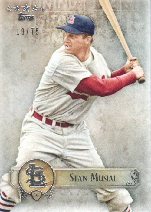 2013 Topps Five Star #30 Stan Musial