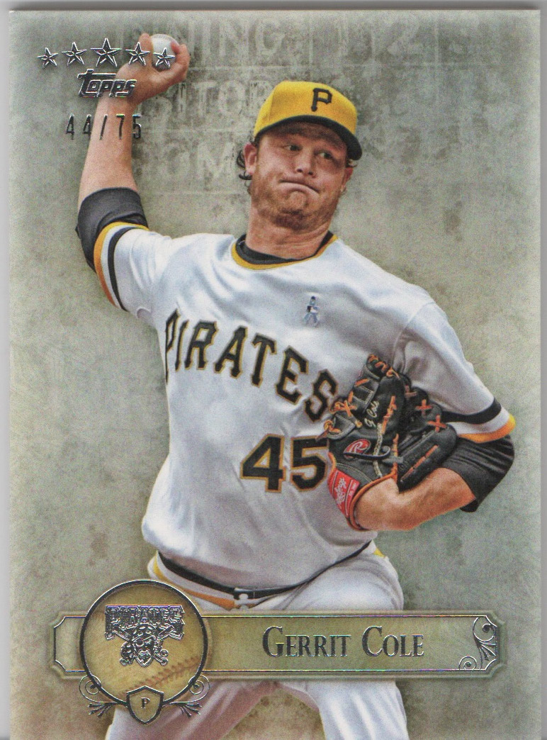 2013 Topps Five Star #34 Gerrit Cole RC