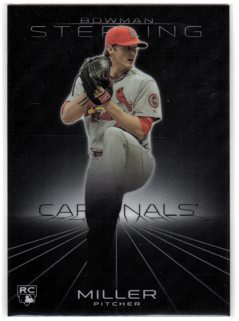2013 Bowman Sterling #3 Shelby Miller RC