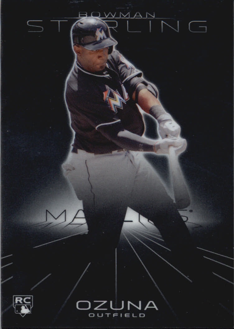 2013 Bowman Sterling #9 Marcell Ozuna RC