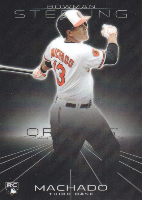 2013 Bowman Sterling #10 Manny Machado RC