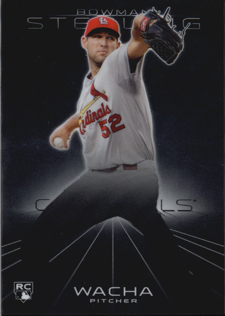 2013 Bowman Sterling #28 Michael Wacha RC