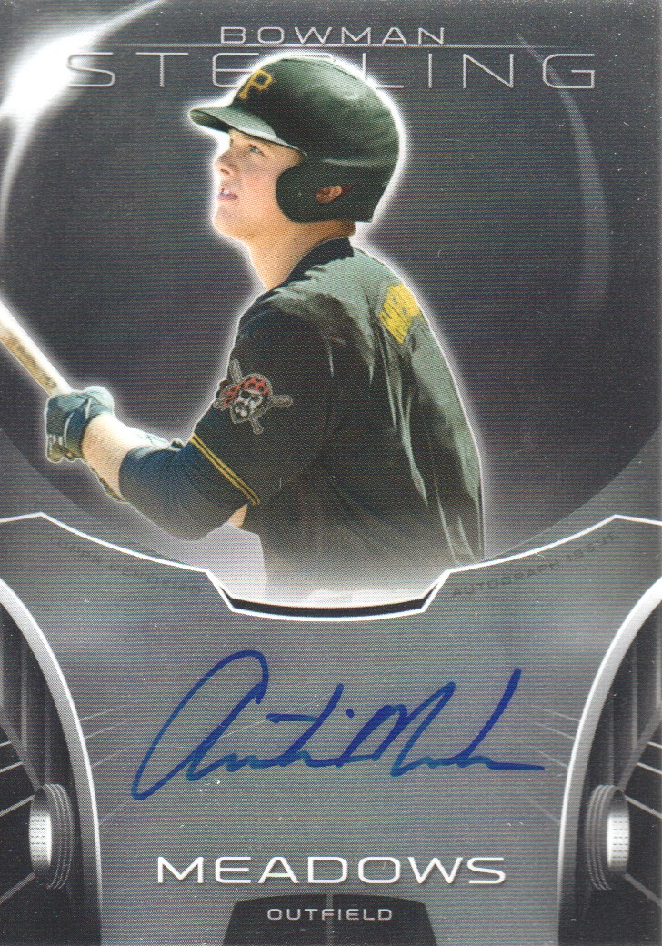 2013 Bowman Sterling Prospect Autographs #AM Austin Meadows