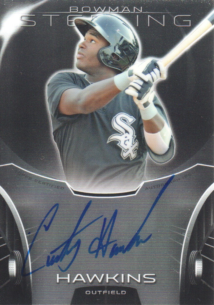 2013 Bowman Sterling Prospect Autographs #CH Courtney Hawkins