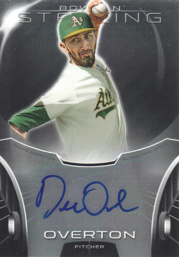2013 Bowman Sterling Prospect Autographs #DO Dillon Overton