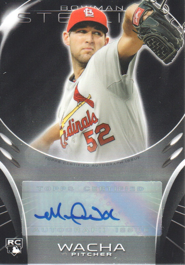 2013 Bowman Sterling Rookie Autographs #MW Michael Wacha