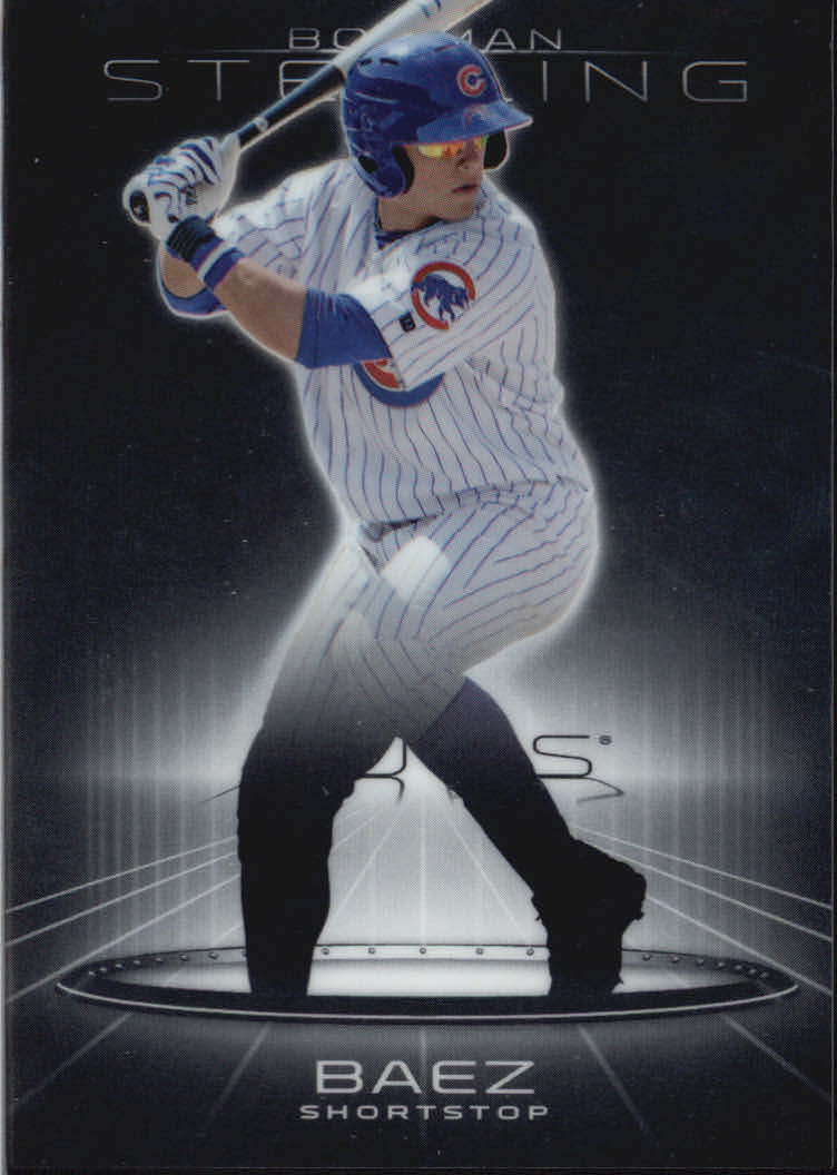 2013 Bowman Sterling Prospects #25 Javier Baez