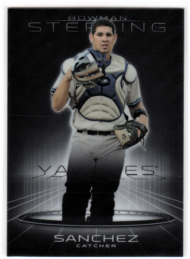 2013 Bowman Sterling Prospects #29 Gary Sanchez