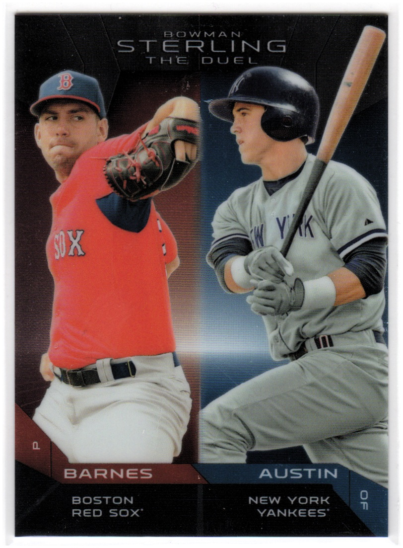 2013 Bowman Sterling The Duel #BA Tyler Austin/Matt Barnes