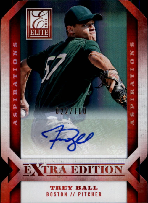 2013 Elite Extra Edition Signature Aspirations #2 Trey Ball