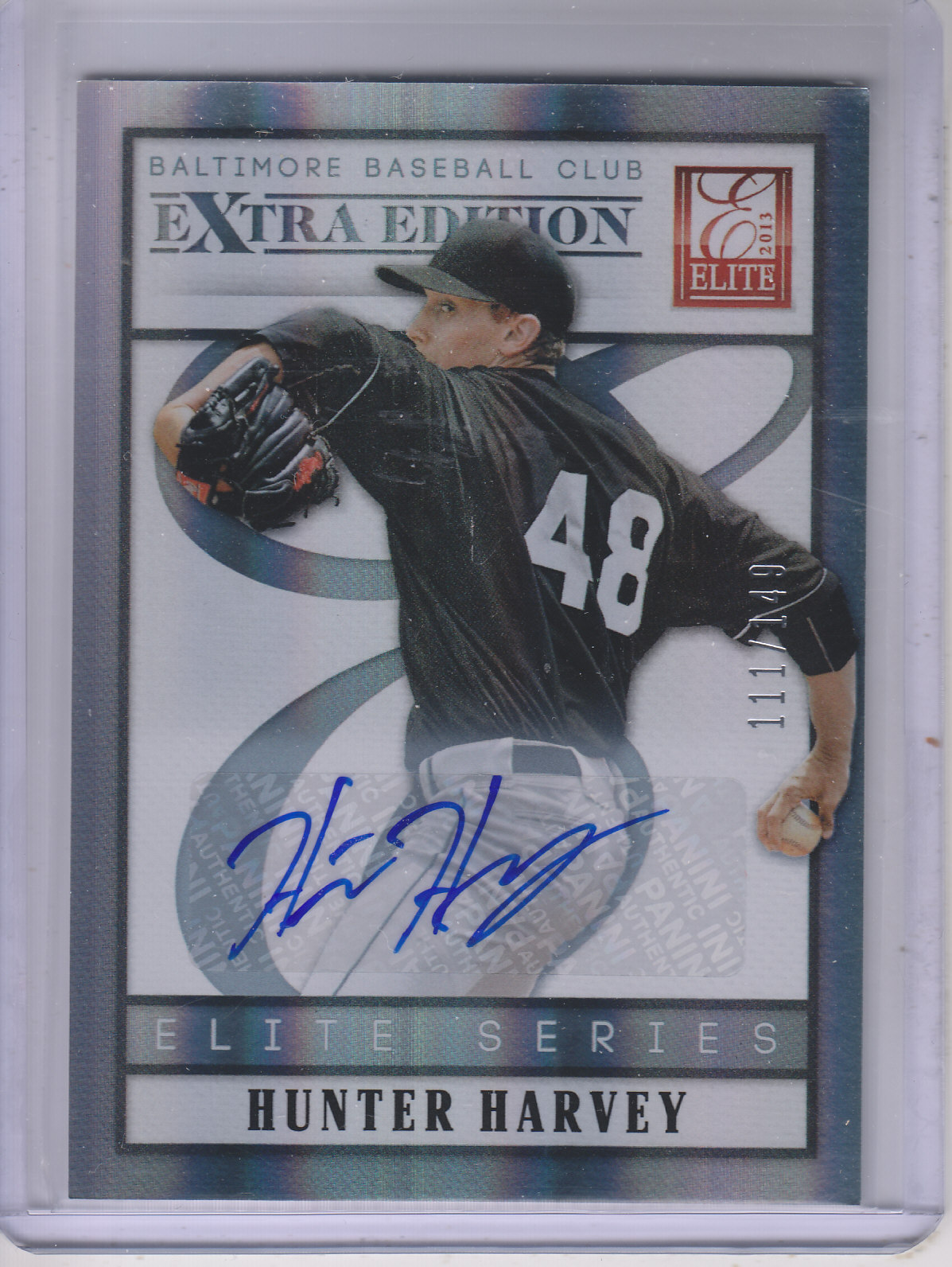 2013 Elite Extra Edition Elite Series Signatures #19 Hunter Harvey/149