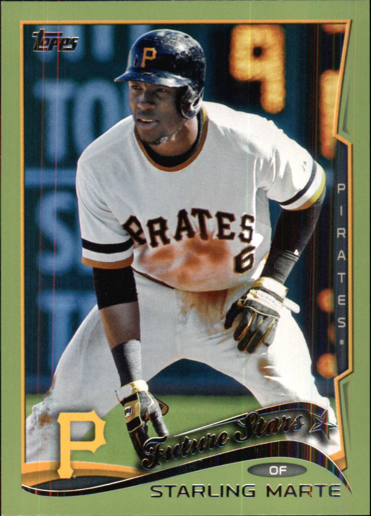 2014 Topps Green #91 Starling Marte FS