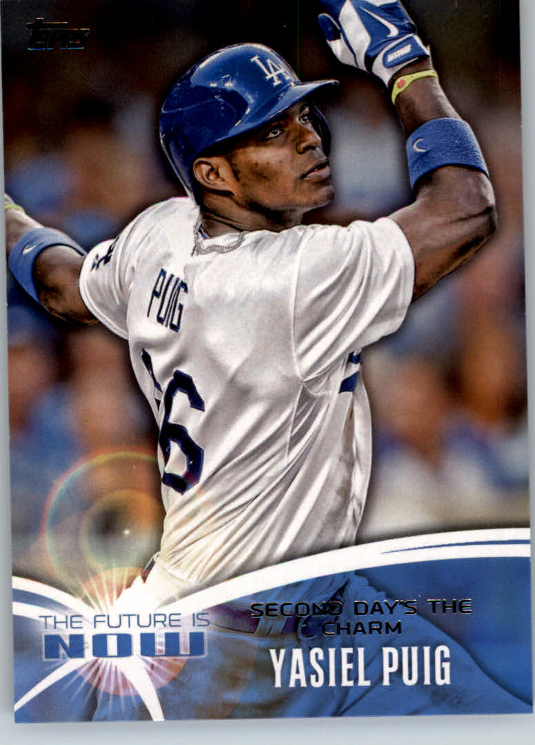2014 Topps The Future is Now #FN25 Yasiel Puig