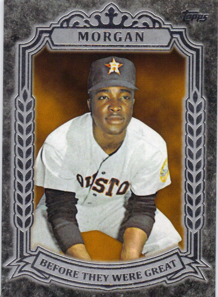 2014 Topps Before They Were Great #BG30 Joe Morgan