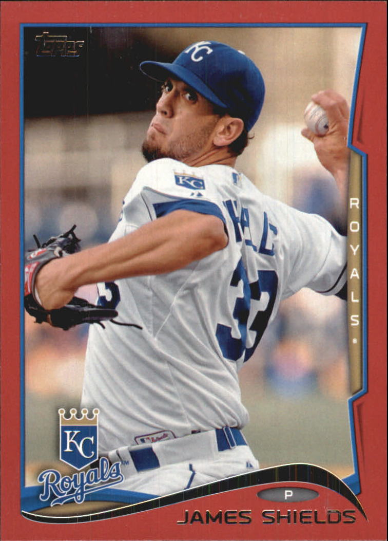 2014 Topps Target Red Border #214 James Shields