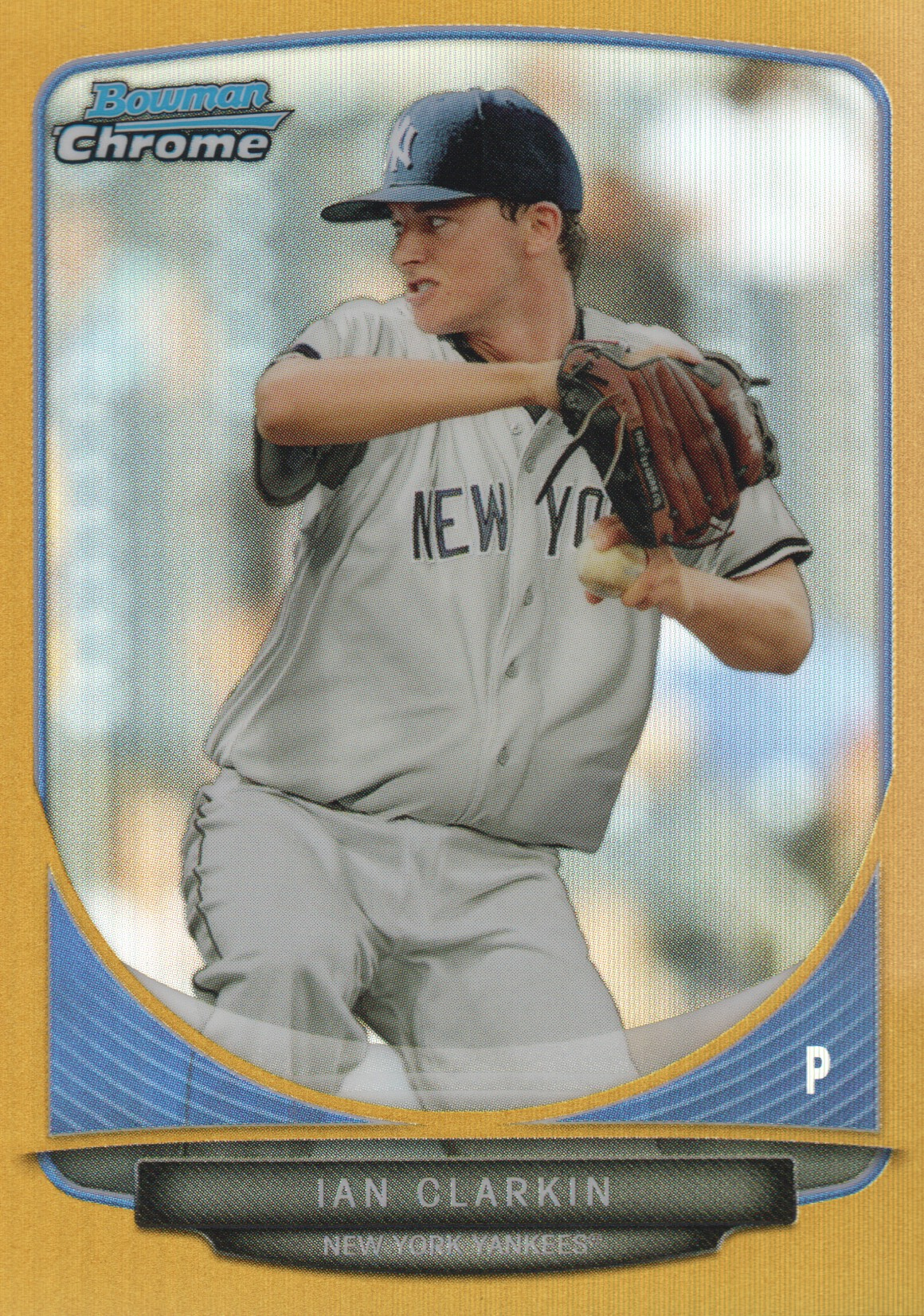 2013 Bowman Chrome Mini Gold Refractors #43 Ian Clarkin