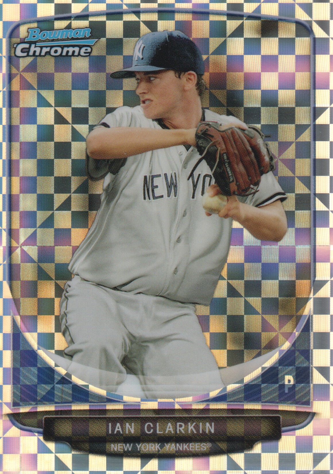 2013 Bowman Chrome Mini X-fractors #43 Ian Clarkin