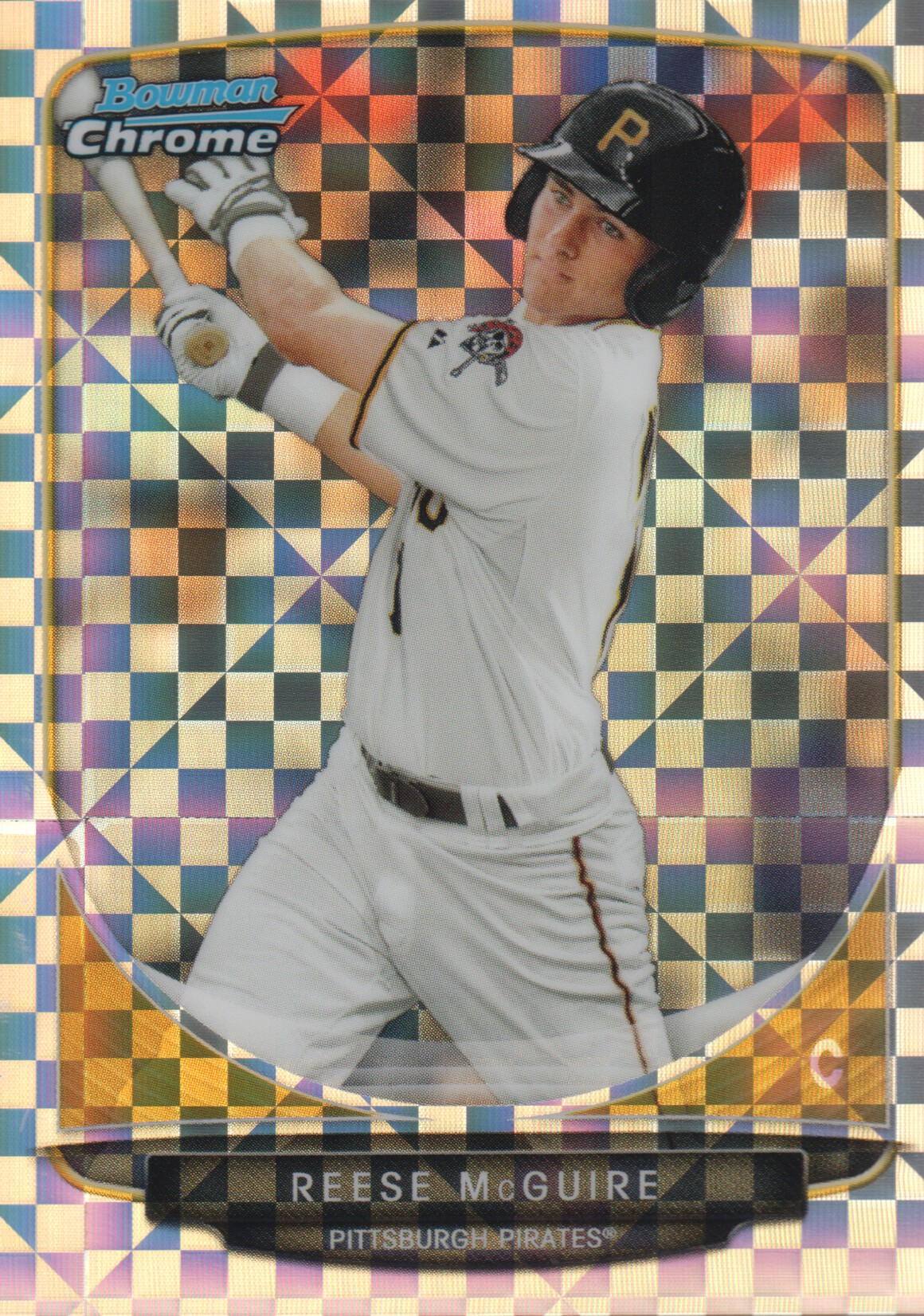 2013 Bowman Chrome Mini X-fractors #297 Reese McGuire