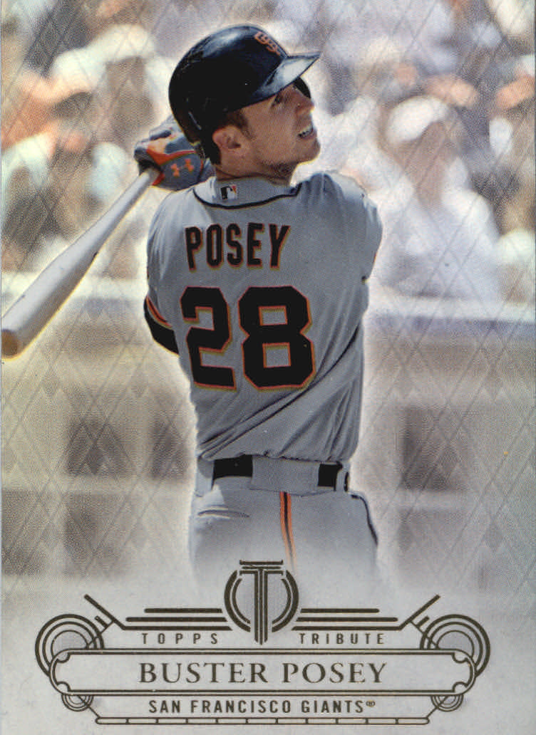 2014 Topps Tribute #1 Buster Posey