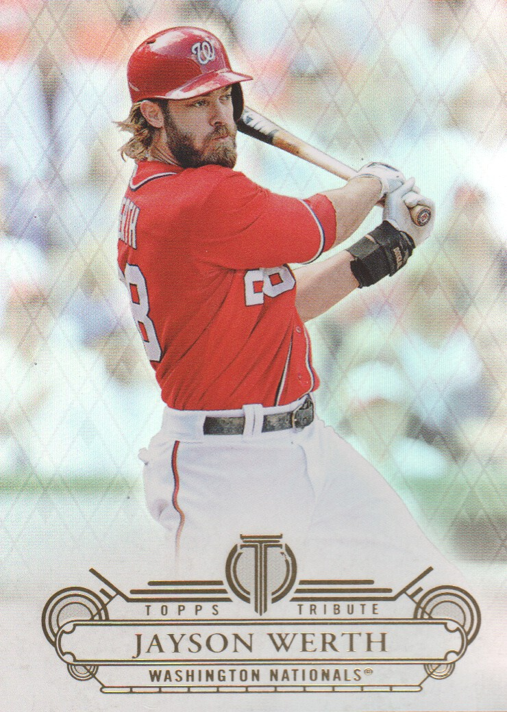 2014 Topps Tribute #10 Jayson Werth