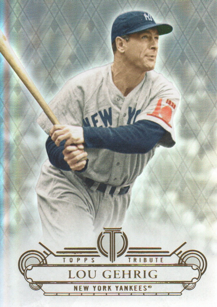 2014 Topps Tribute #11 Lou Gehrig