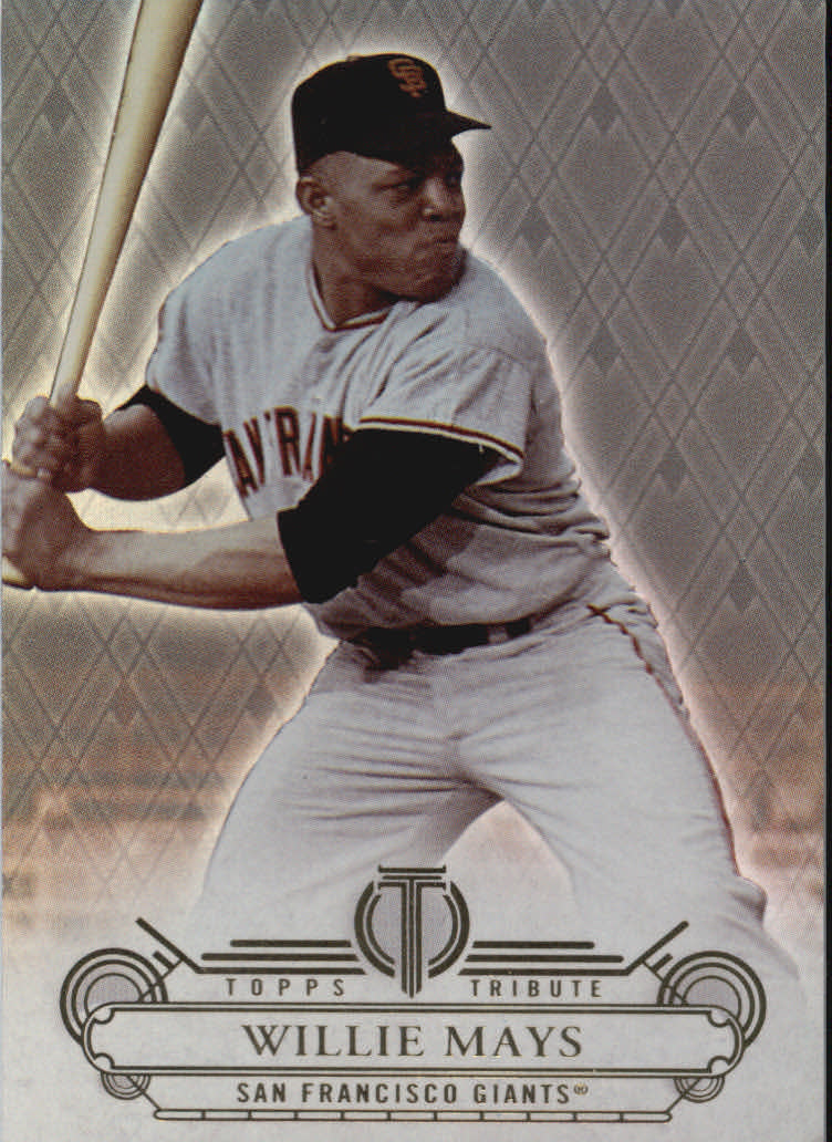 2014 Topps Tribute #25 Willie Mays