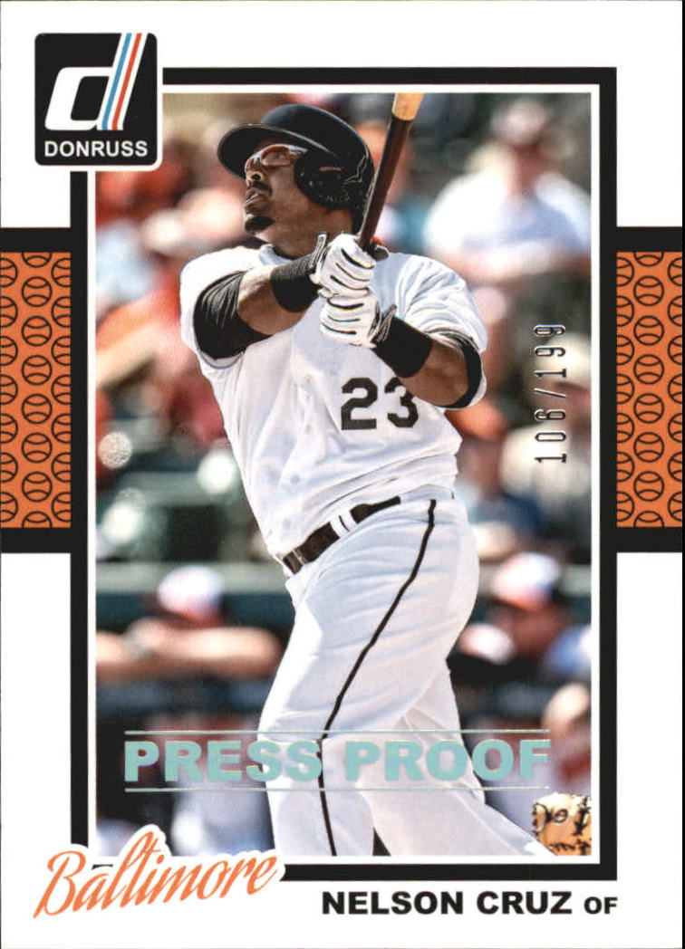 2014 Donruss Press Proofs Silver #269 Nelson Cruz
