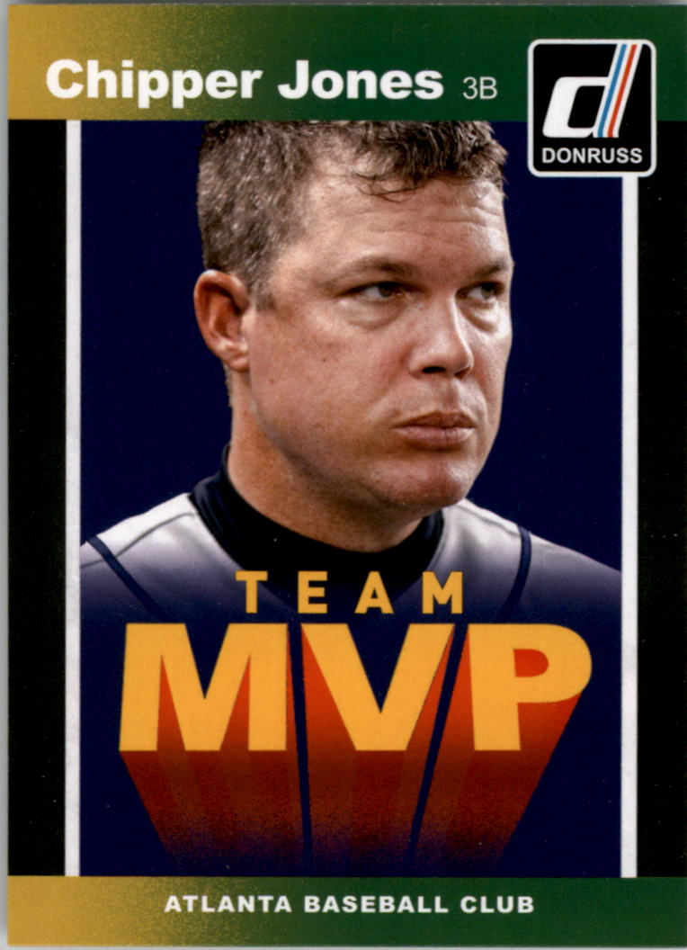 2014 Donruss Team MVPs #11 Chipper Jones