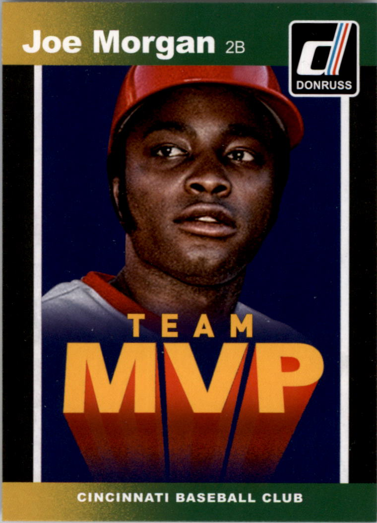 2014 Donruss Team MVPs #26 Joe Morgan