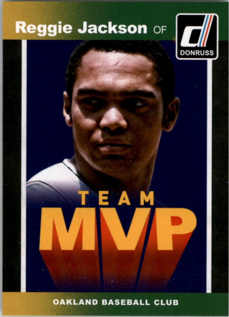2014 Donruss Team MVPs #28 Reggie Jackson