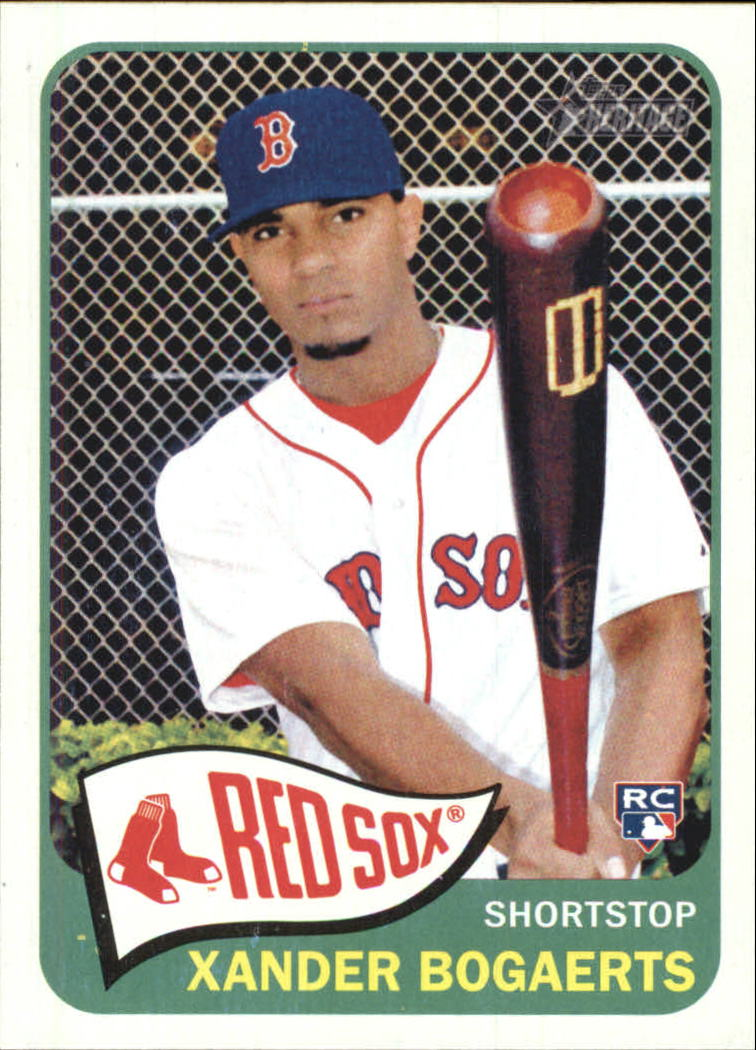2014 Topps Heritage #H550 Xander Bogaerts RC