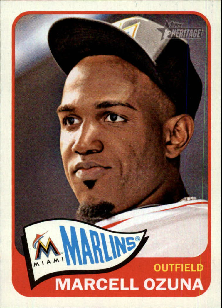 2014 Topps Heritage #112 Marcell Ozuna