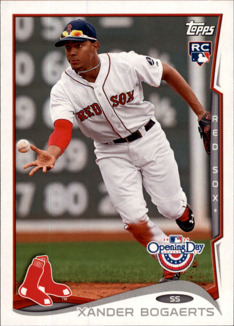 2014 Topps Opening Day #178A Xander Bogaerts RC/Fielding