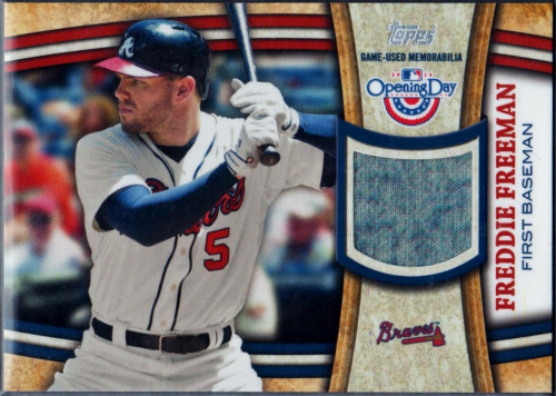 2014 Topps Opening Day Relics #ODRFF Freddie Freeman