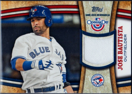 2014 Topps Opening Day Relics #ODRJB Jose Bautista