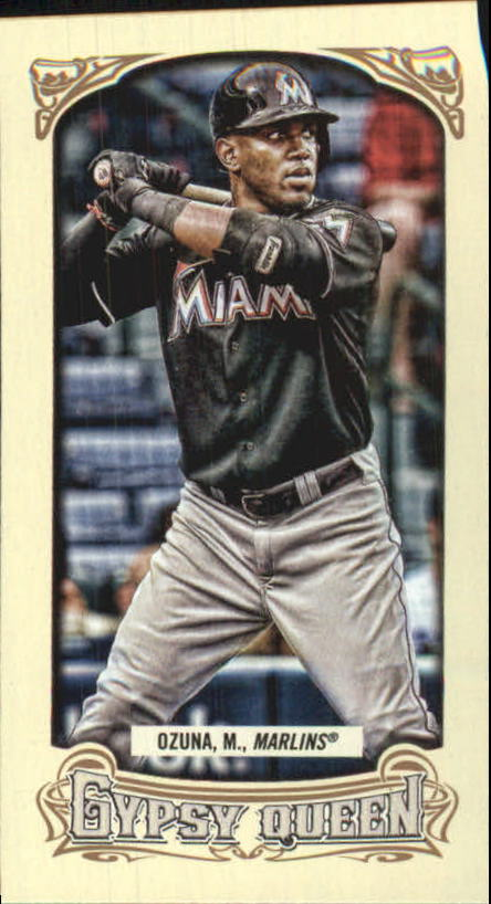 2014 Topps Gypsy Queen Mini #91 Marcell Ozuna