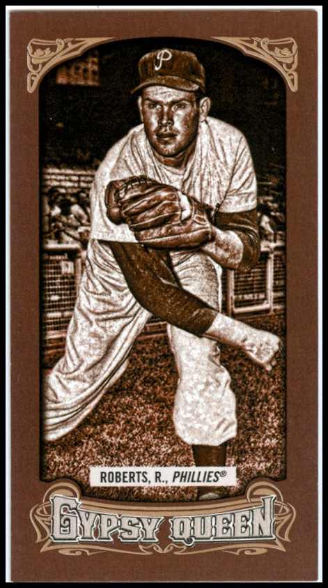 2014 Topps Gypsy Queen Mini Sepia #36 Robin Roberts