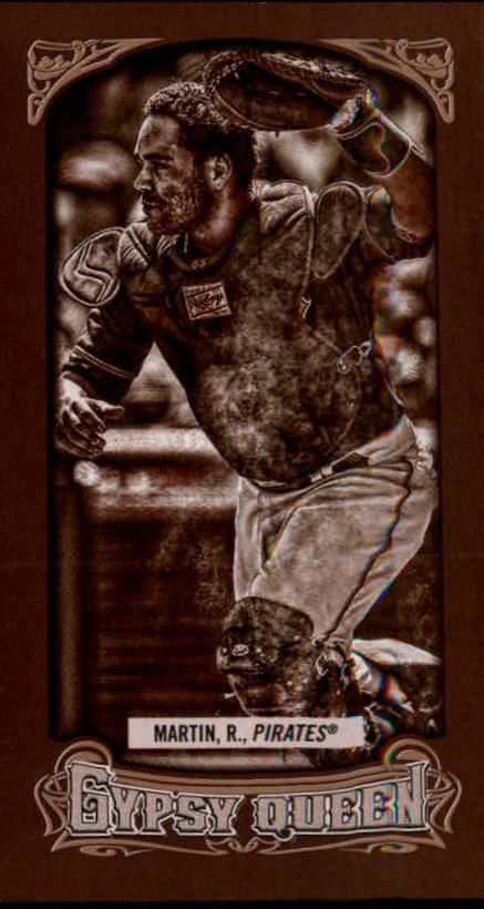 2014 Topps Gypsy Queen Mini Sepia #149 Russell Martin