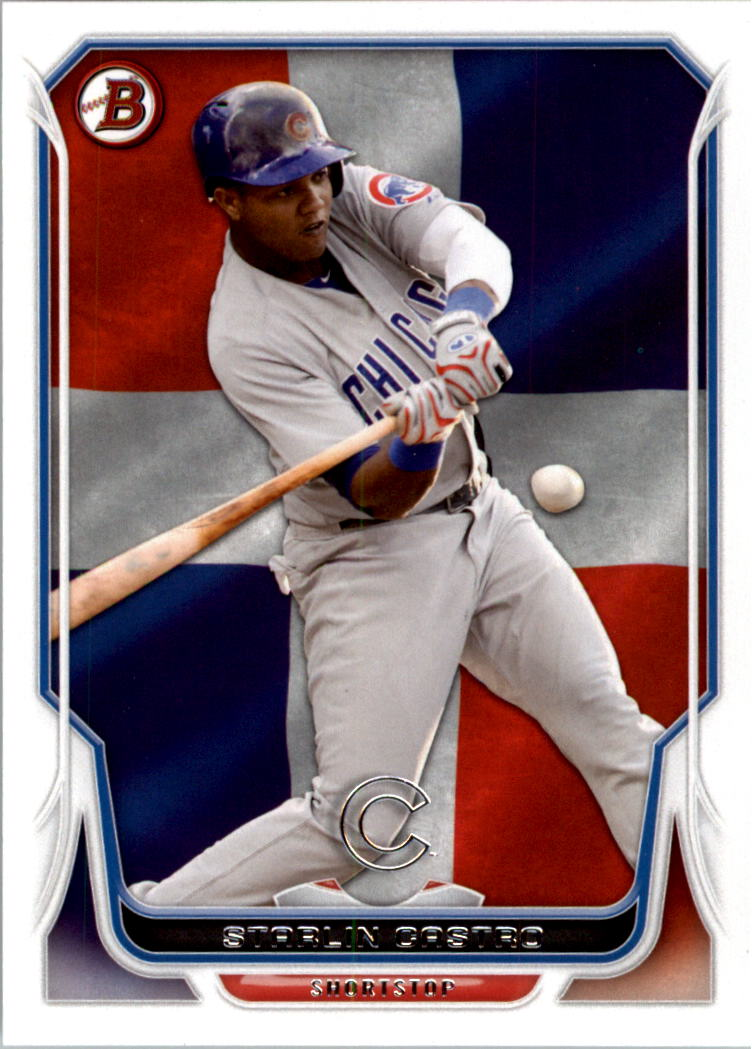 2014 Bowman Hometown #16 Starlin Castro