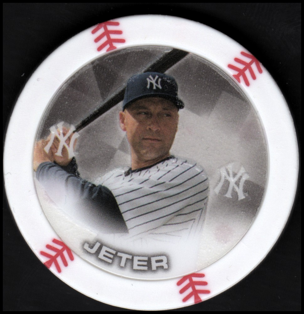 2014 Topps Chipz Glow in the Dark #48 Derek Jeter