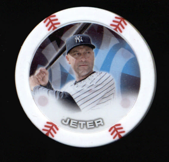 2014 Topps Chipz Magnets #48 Derek Jeter