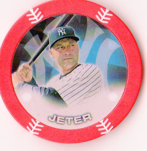 2014 Topps Chipz Red #48 Derek Jeter