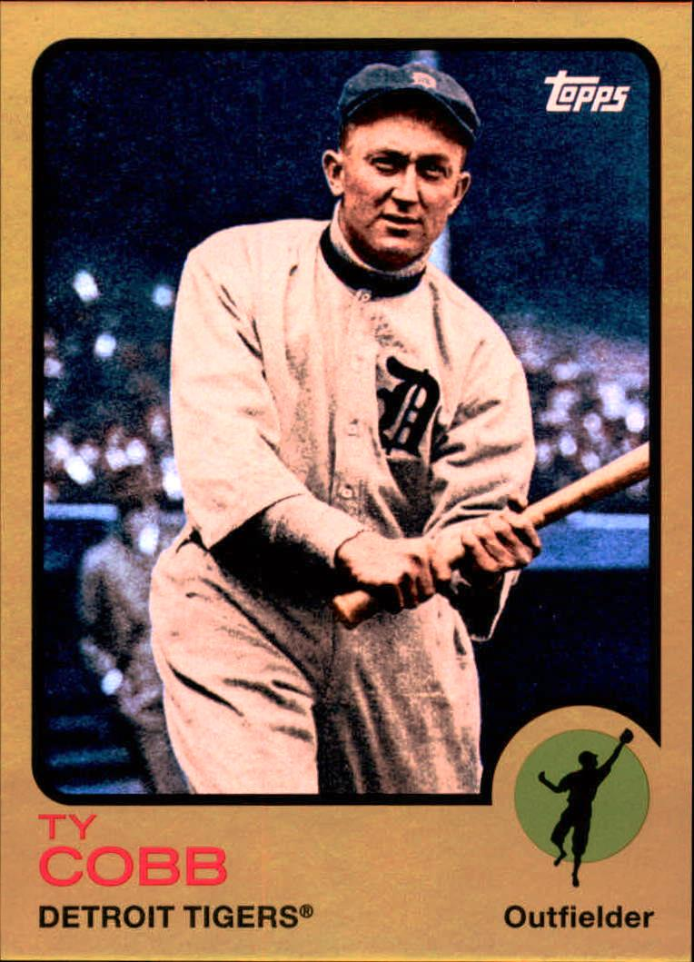 2014 Topps Archives Gold #21 Ty Cobb