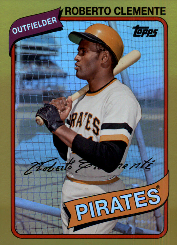 2014 Topps Archives Gold #91 Roberto Clemente