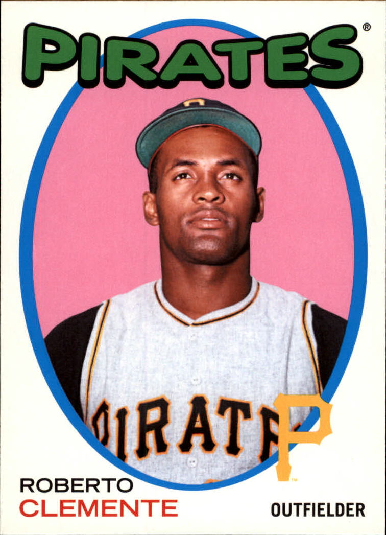 2014 Topps Archives '71-72 Hockey #71HRC Roberto Clemente