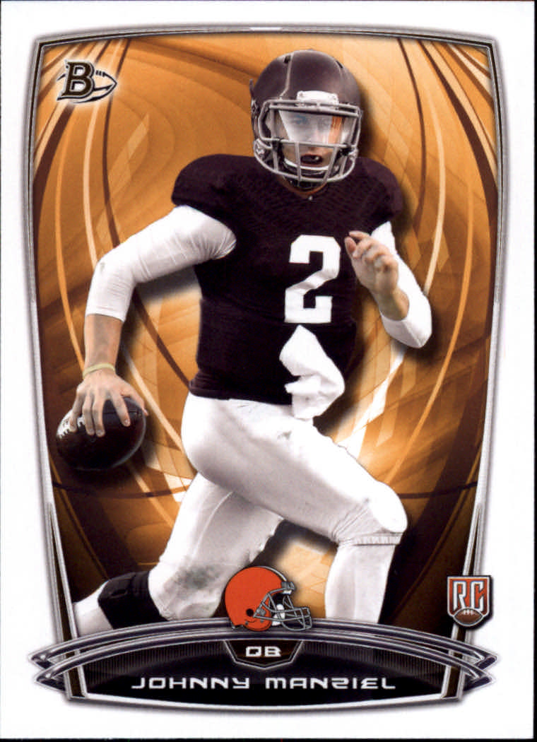 2014 Bowman #R9 Johnny Manziel RC