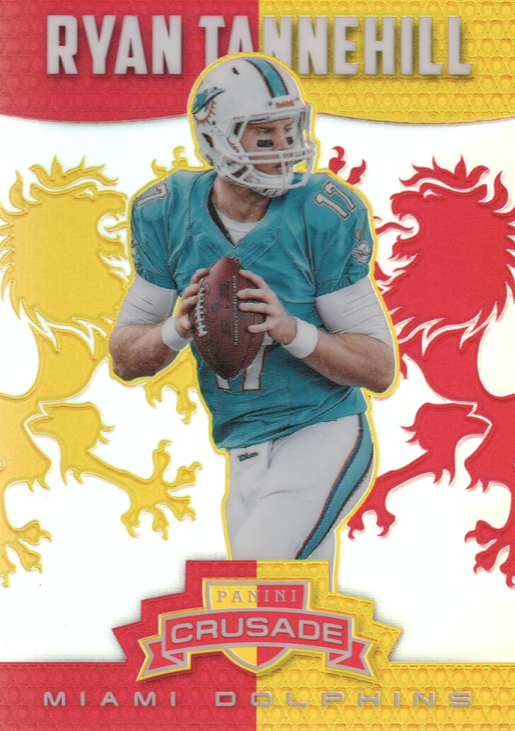 2014 Rookies and Stars Crusade Red #4 Ryan Tannehill