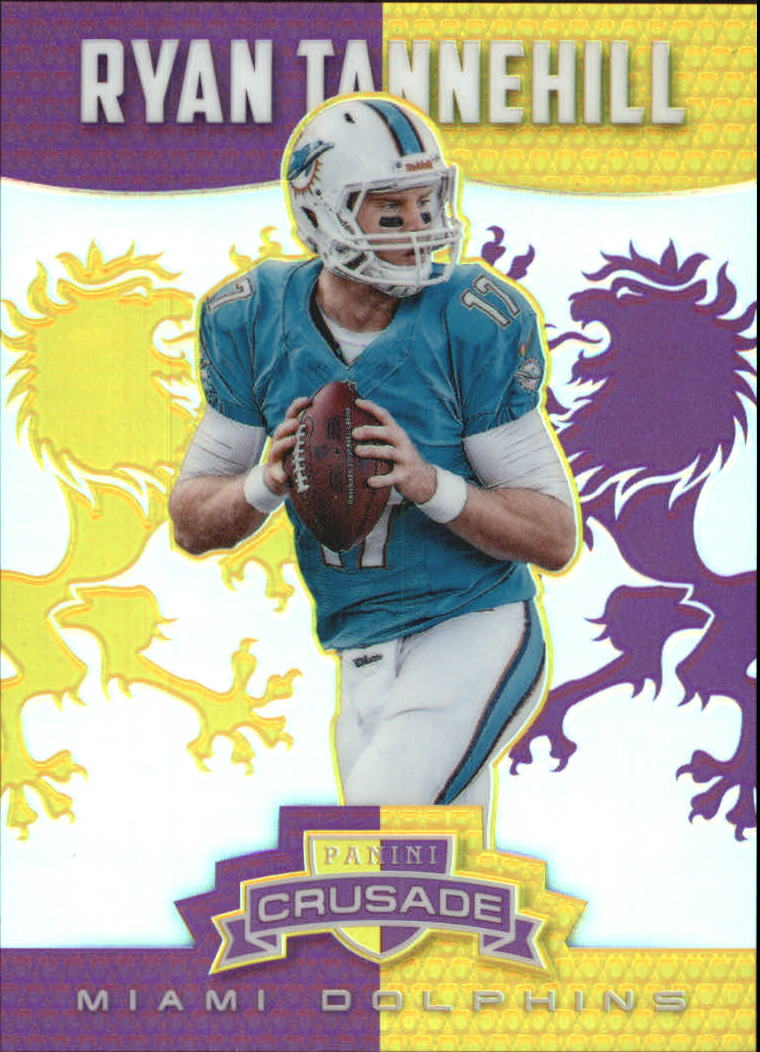 2014 Rookies and Stars Crusade Purple #4 Ryan Tannehill