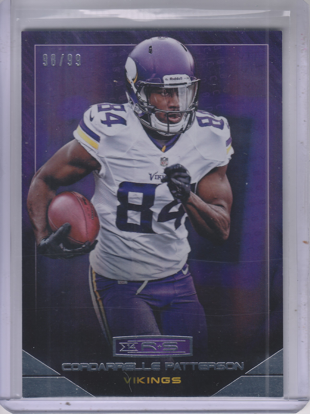 2014 Rookies and Stars Longevity Holofoil Parallel #79 Cordarrelle Patterson