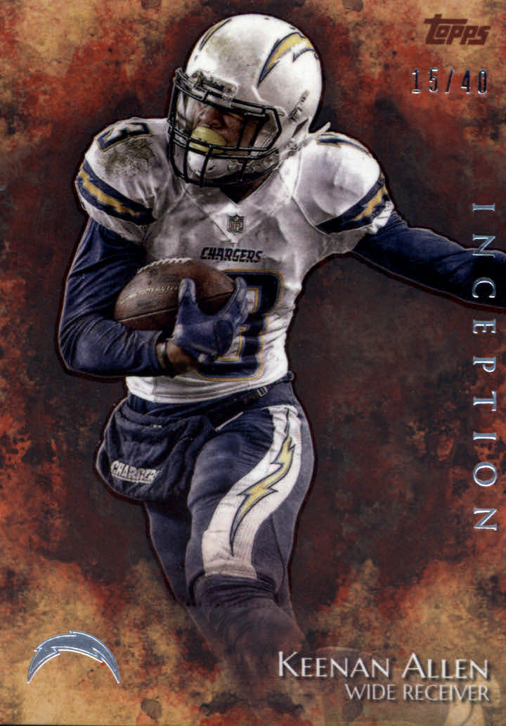 2014 Topps Inception Orange #3 Keenan Allen